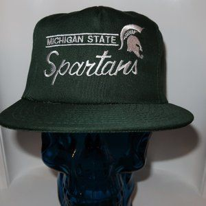 NWOT MICHIGAN STATE SPARTANS SNAPBACK HAT NCAA NEW